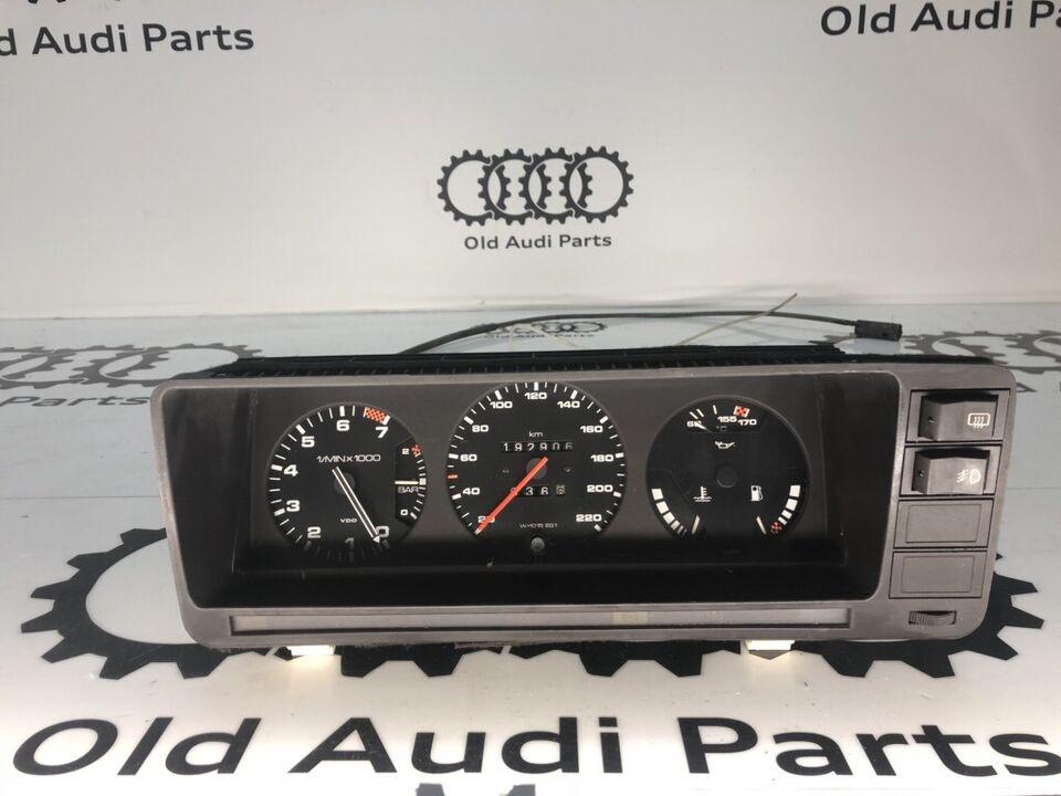 Audi 200 turbo Tacho Ladedruck C2 Typ 43 Meter Speedo Instrumente in Bredstedt