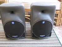 Mackie SRM350 Active speakers