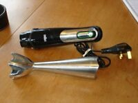 BRAUN MULTIQUICK 7 SMART SPEED HAND BLENDER – MODEL MQ700 - AS NEW