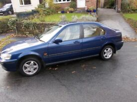 Honda Civic 1.4i S 5 Door Very Low Mileage 11 Mot SHOWROOM CONDITION Drives superb Only 34,474 Miles