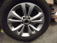 MG GS EXCITE 7 X 17 ALLOYS WITH MAXXIS TYRES AS NEW