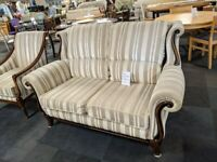 CLASSIC 2 SEATER SOFA AND FIRESIDE CHAIR
