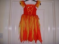 Dressing up - Halloween Dress & hair band. Age 5-6yrs