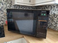 Large Microwave, Black and Grey, Easy to Use