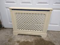 Radiator ornate wooden cover £25 ono