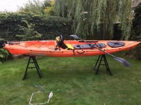 Ocean trident sit on kayak 13