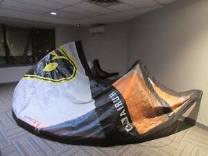 Airush Lithium 14m kite complete with bar