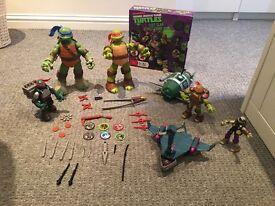 Massive Bundle Of Turtles Toys Figures Game
