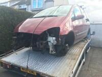 Scrap cars wanted spares or repairs and mot failures vehicle recovery