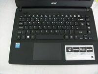"acer ES1-411-c343 14"" laptop like new windows 10,office 2007, 2 gig ram,500gig hard drive"