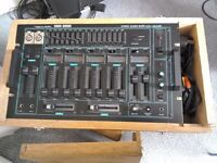 Mixing Desk - Encased in wooden box