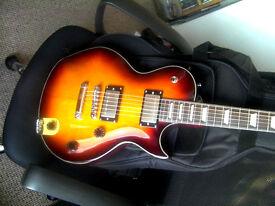 Fret King Eclat Black Label Electric Guitar - New / Unused Condition - Tobacco Sunburst