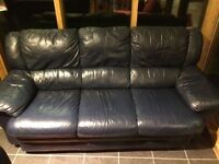 3x2x2x1 leather settee/sofa suite