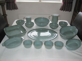 Denby Regency Green Tableware