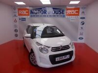 Citroen C1 FEEL(£0.00 ROAD TAX) FREE MOT'S AS LONG AS YOU OWN THE CAR!! (white) 2015