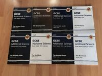 CGP GCSE old spec additional science revision guides, multiple exam boards