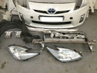 2010-2015 TOYOTA PRIUS MK3 BREAKING CAR 1.8 HYBRID WHITE 70K MILES -FRONT END BATTERY XENONS CATS