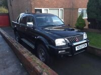 L200 worries in black for sale fantastic on snow and I deal For moving stuff around