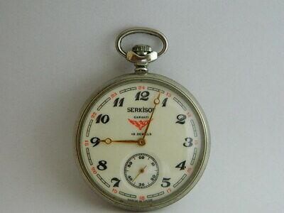 orologio da tasca funziona SERKISOF pocket watch working MA 18