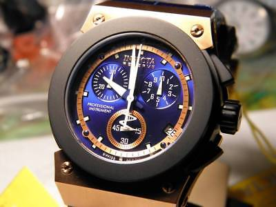 Invicta Reserve Akula Swiss Made Chronograph Blk IP Stainless steel 100M  5551