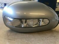 Used, MERCEDES BENZ E CLASS W211 RIGHT DRIVER SIDE WING MIRROR 2038107293 for sale  Newcastle-under-Lyme, Staffordshire