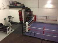 Fully epuipped gym facility to rent
