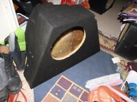 Car Speaker Housing Solid Wood For Boy Racer Car. Weymouth