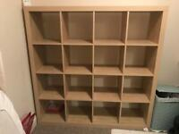 LARGE IKEA KALLAX BOOKCASE