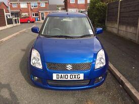 2010 Suzuki swift DDIS blue 1.3 diesel low mileage £30 tax
