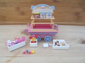 Sylvanian sweet cart used