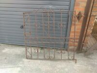 wrought iron front/side/garden gate