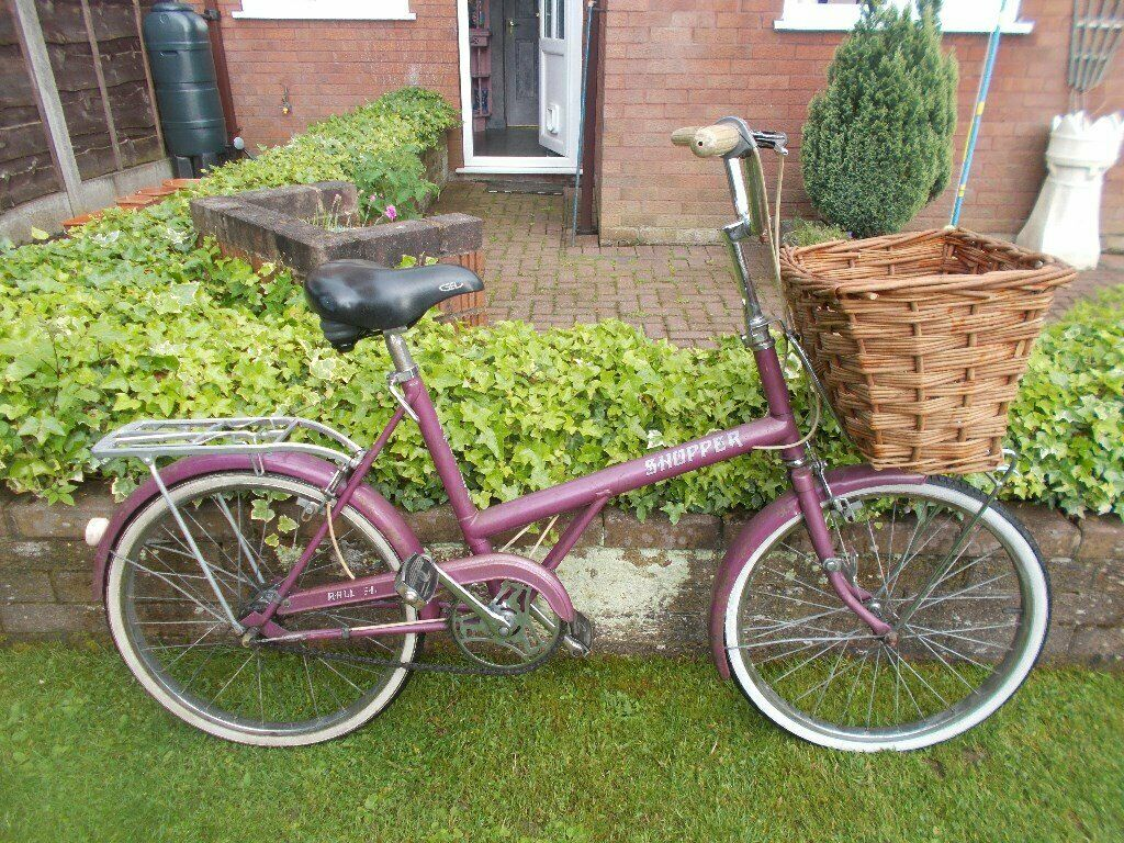 Raleigh Shopper R 20 Ladies Bicycle 1970 S Vintage Bike