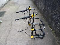 Halfords car bike rack to hold 3 bikes