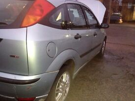 Ford focus 1.8tdci desil 5door start drive very good condition long m.o.t 4drand new tyers body cle