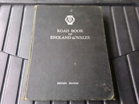 AA Road Book of England and Wales 1965