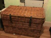 Large Wicker Chest great for storage