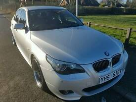 BMW 525D M SPORT SILVER, FULL SERVICE HISTORY