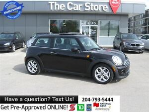 2013 MINI Cooper Cooper - LEATHER HTD SEAT moonroof, BLUETOOTH