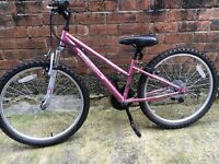"Apollo vivid 24"" girls bike."