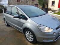 2007 FORD S MAX 2.0TDCI ZETEC 7 SEATER SPOTLESS INSIDE AND OUT
