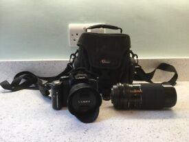 Canon EOS 100d DSLR Digital Camera + 2 lenses + 64Gb SD Card