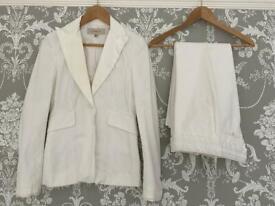 Karen Millen trouser suit. size 8