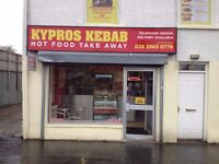 WELL ESTABISHED=KEBAB AND EUROPEAN CHIP SHOP FOR SALE