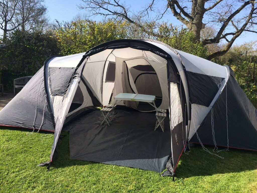 3 bedroom tent eurohike tent with 3 bedroom pods sleeps 6 in 10029