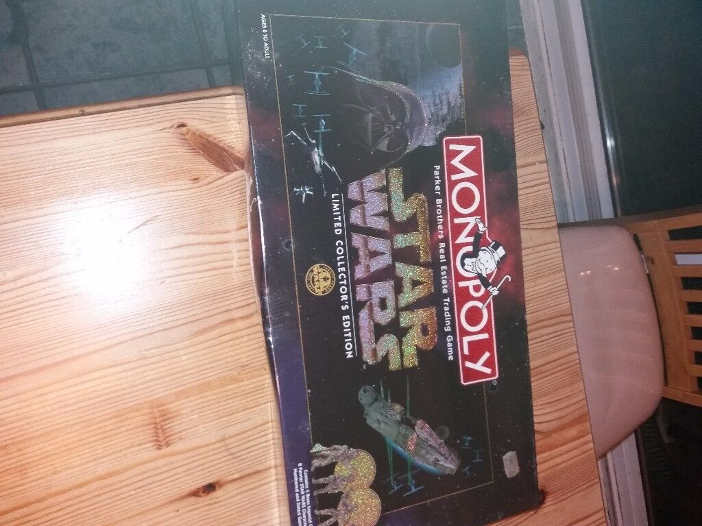 I have for sale BNIB sealed Limited Edition Star Wars Monopoly