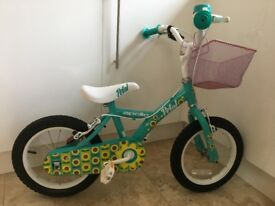 Girls bike & helmet