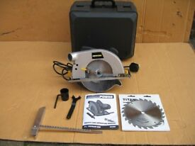 Direct Power 7 ¼ inch Circular Saw and Extra Spare Blade