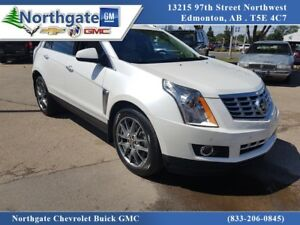 2016 Cadillac SRX Premium Collection AWD, Driver Assist, Pearl W