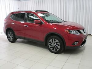 2016 Nissan Rogue SL AWD SUV, LEATHER , SUNROOF AND NAVIGATION!