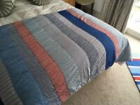 Laura Ashley patchwork quilt